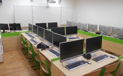 Fotografie projektu Moderní výuka cizích jazyků na základní škole vJanovicích
