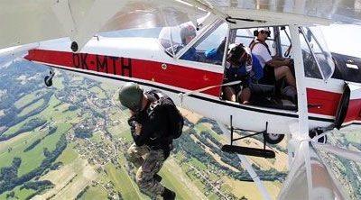 Fotografie projektu Výcvik parašutistů vBeskydech  – Aeroklub Frýdlant nad Ostravicí, z.s.