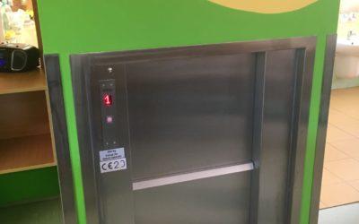 Fotografie projektu Zřízení jídelního výtahu – Mateřská škola Čeladenská beruška